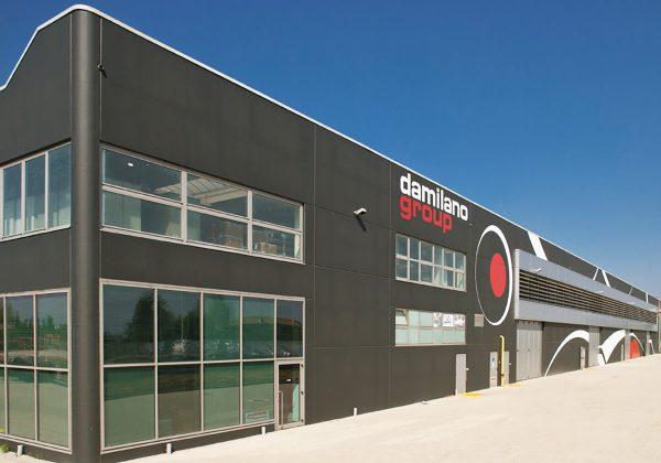 LPM per Damilano Group - Realizzazione prefabbricati in cemento armato per edilizia industriale